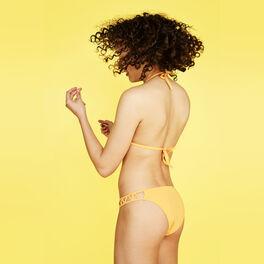 Pomcassiz yellow bikini bottoms yellow.