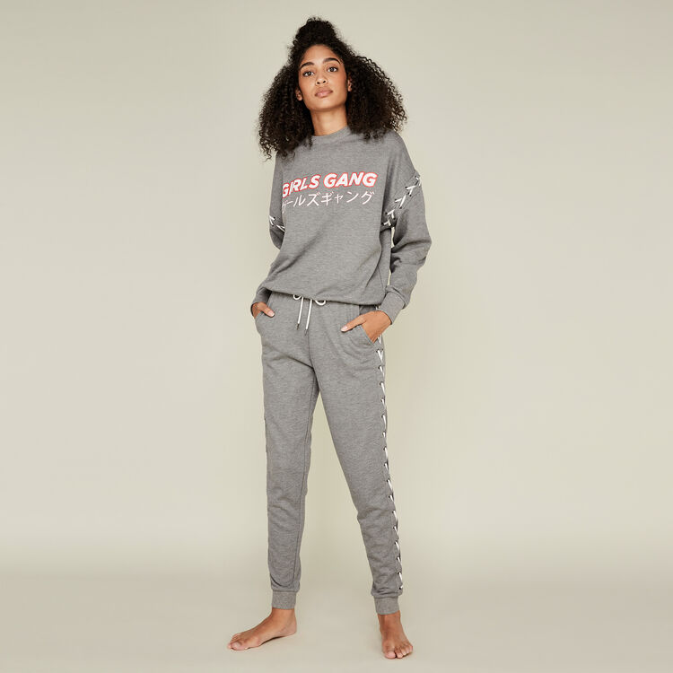 Sweat gris girlgiz grey.