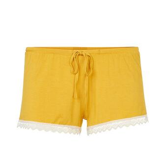 Vitamiz yellow shorts yellow.