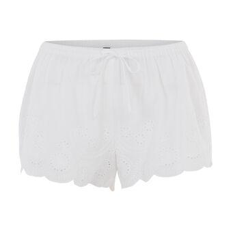Short blanc batobiz white.