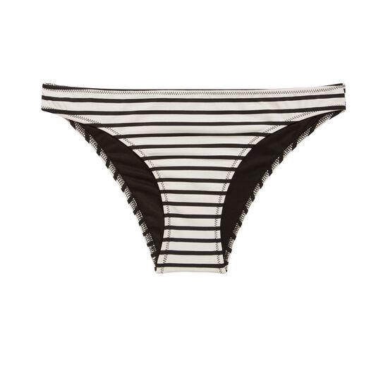 Bas de maillot de bain noir/blanc marineriz;