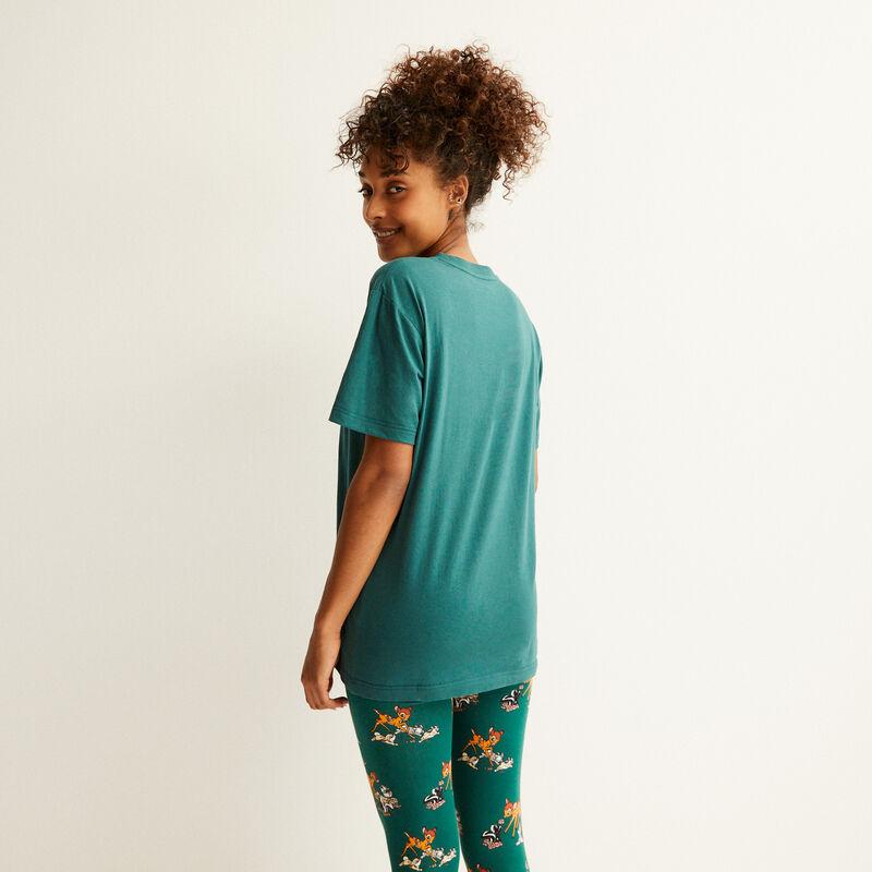 t-shirt imprimé bambi - sapin;