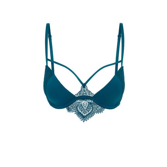 Soutien-gorge push bleu canard tattoogirliz;
