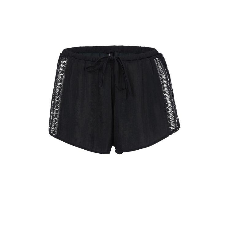 Short noir bijoutiz laciz black.