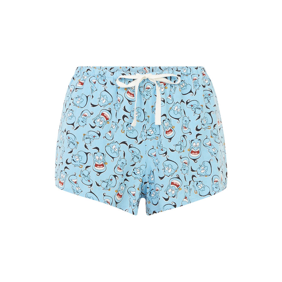 Short bleu supergeniz;