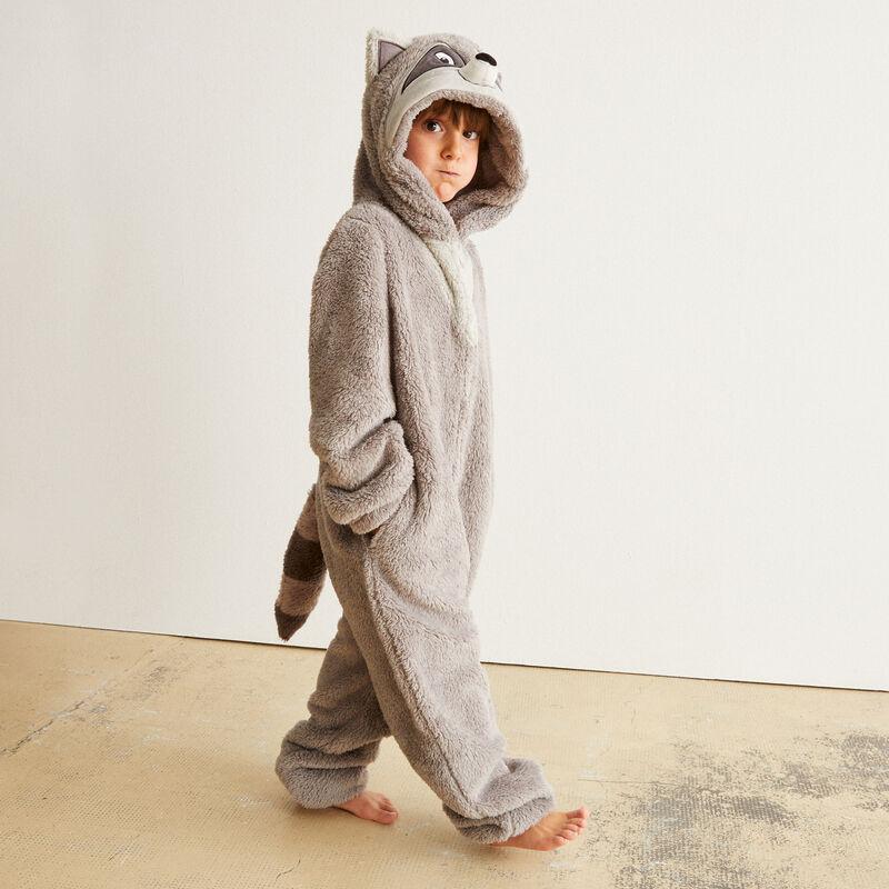 combinaison polaire Meeko kid - gris ;