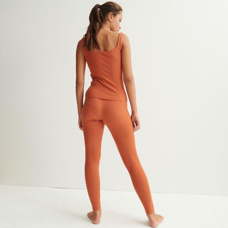 legging uni - camel;