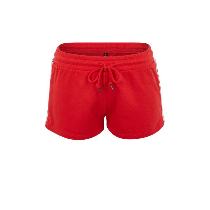 Short rouge excusiz red.