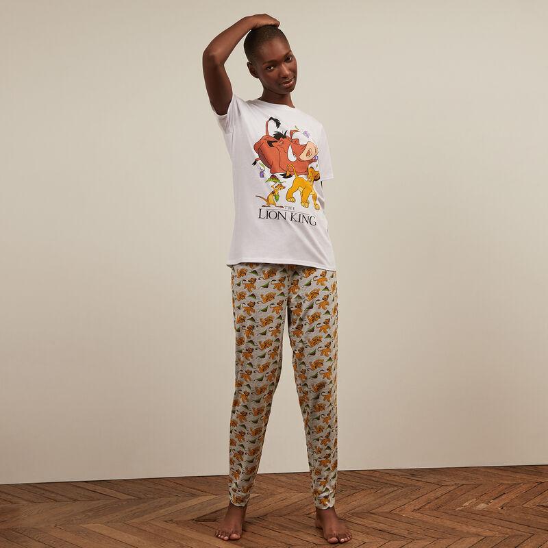 Pyjama set Le roi lion - blanc ;