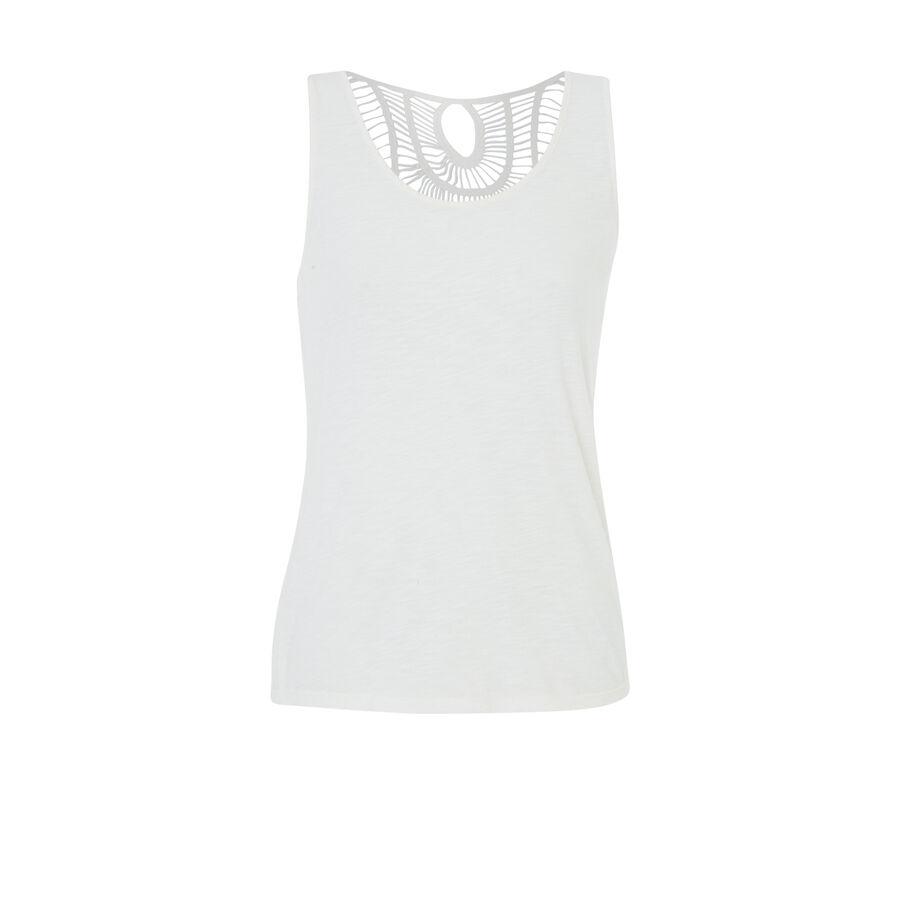 Backjoliz white top;${refinementColor}