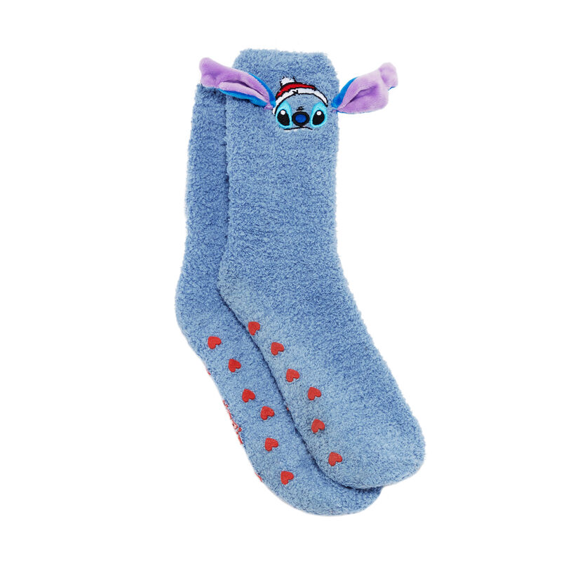 chaussettes Stitch - bleu ;