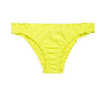 Froufrouiz yellow bikini bottoms yellow.