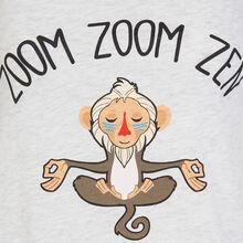 Zoomzeniz light grey top.