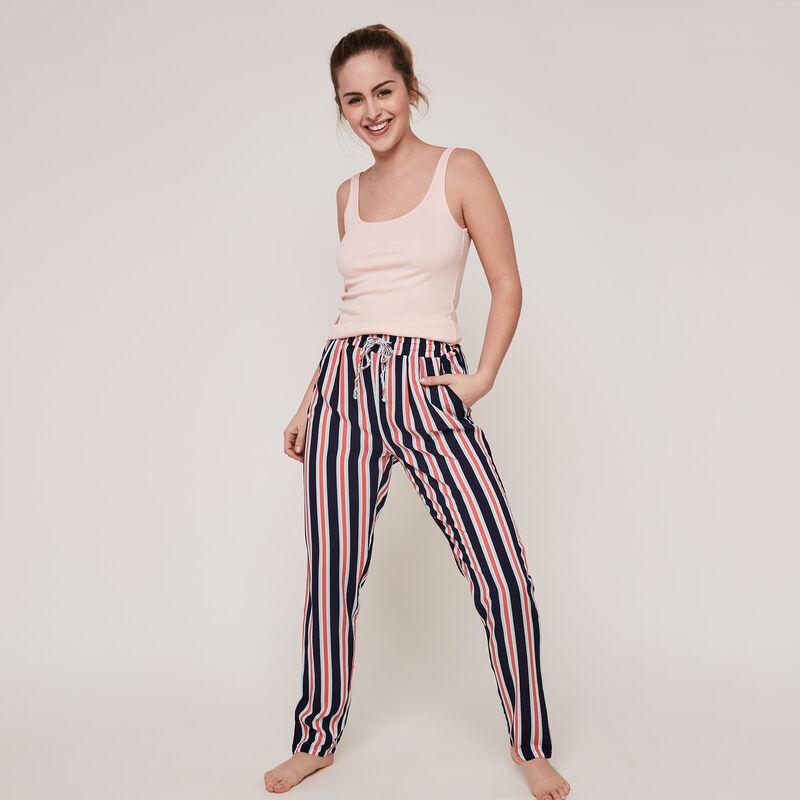 pantalon à rayures rayubleuiz;