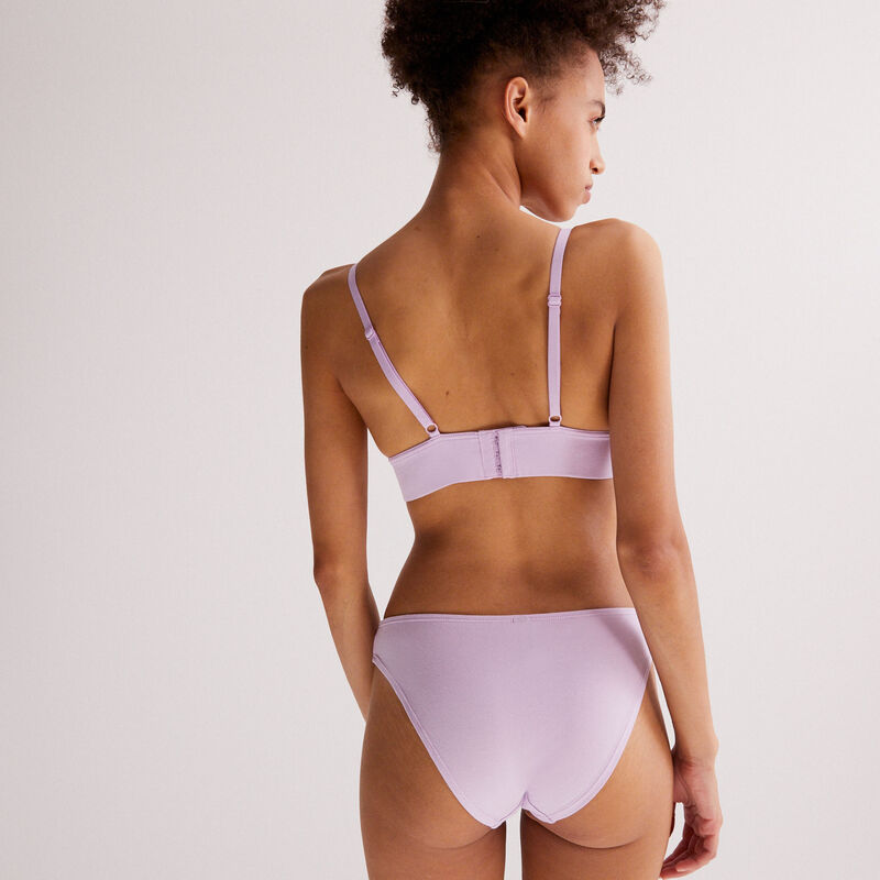 culotte designed to make you happy - lilas;