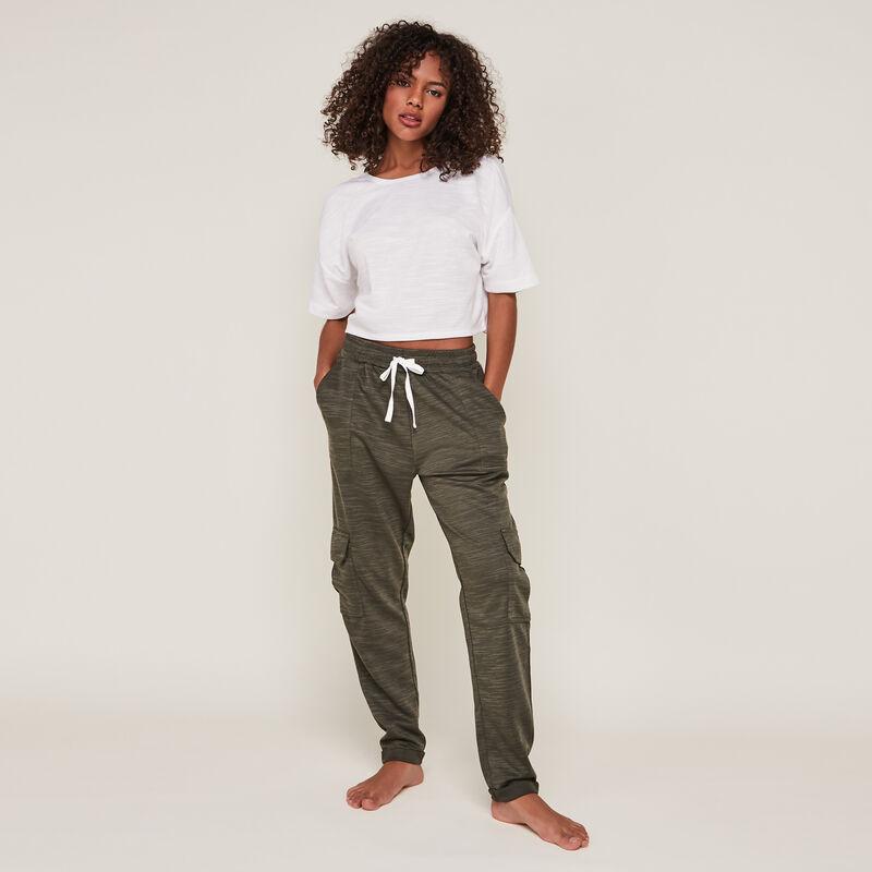 pantalon uni en jersey stitchjoggiz;