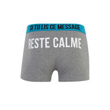 Calmiz grey boxer shorts grey.