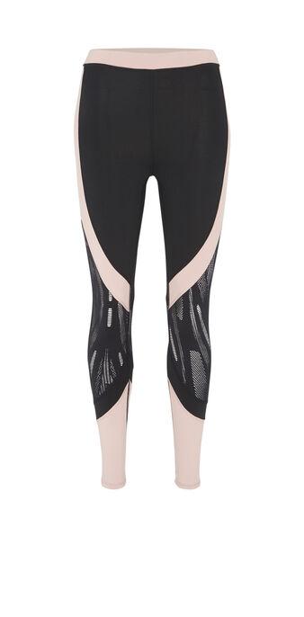 Legging de sport noir redbudiz black.