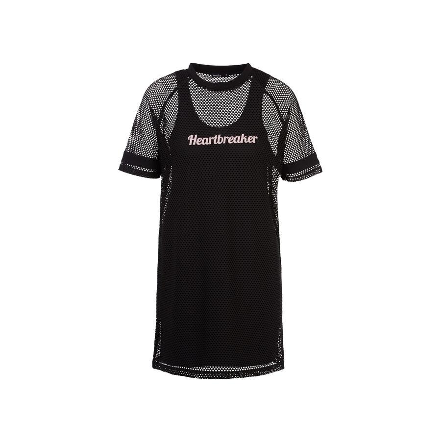 Robe noire womadressiz;