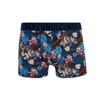 Santatropiz navy boxer shorts blue.