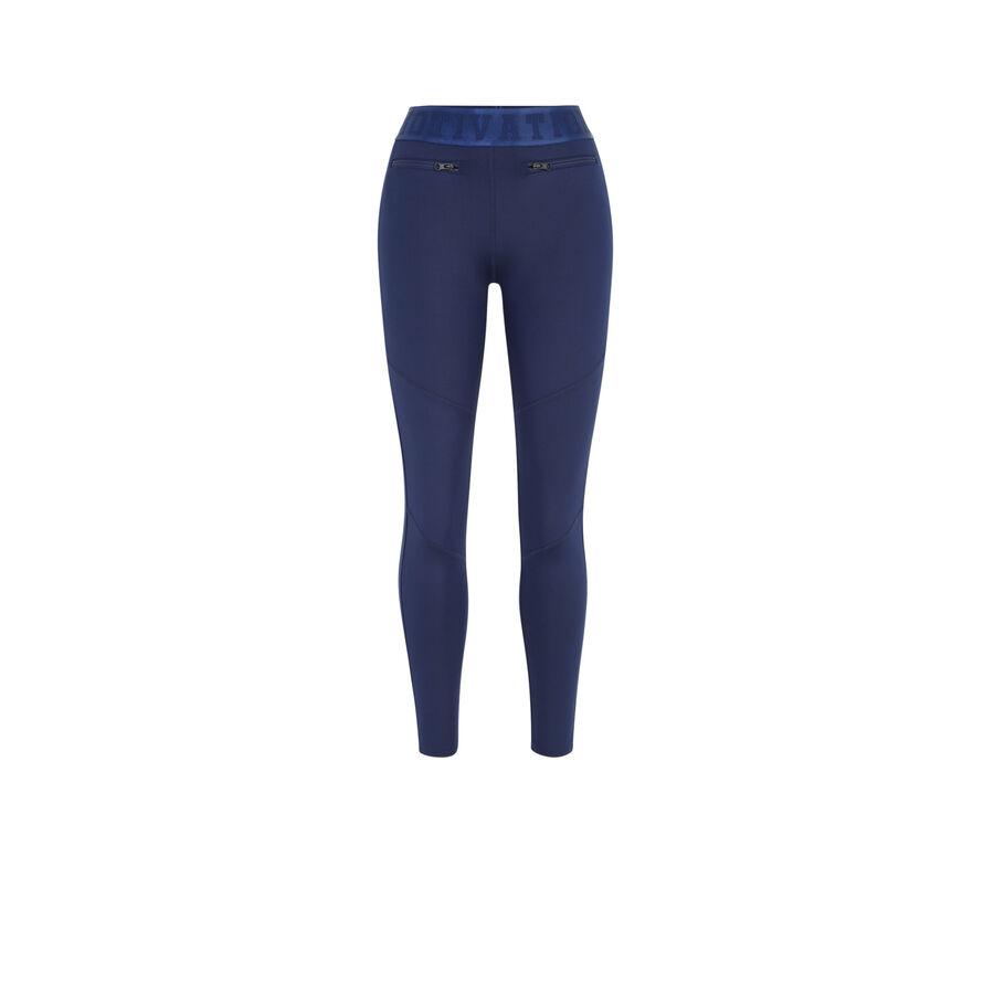 Legging bleu coupoiz;
