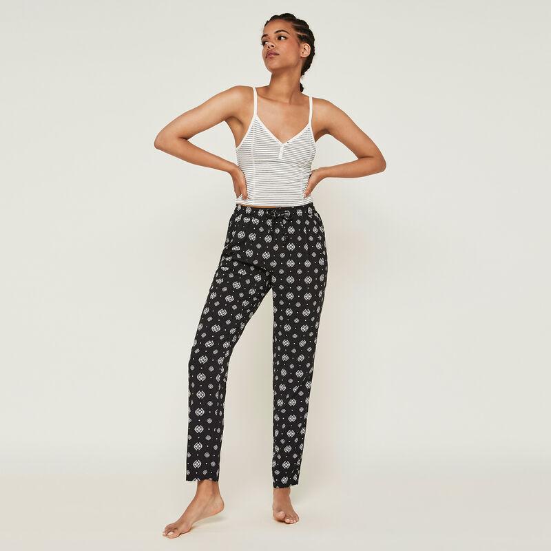 Pantalon a motifs arabesques arabeskiz;