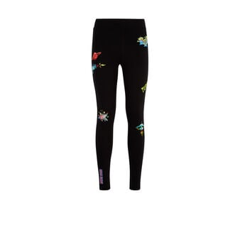 Extraterriz black leggings black.