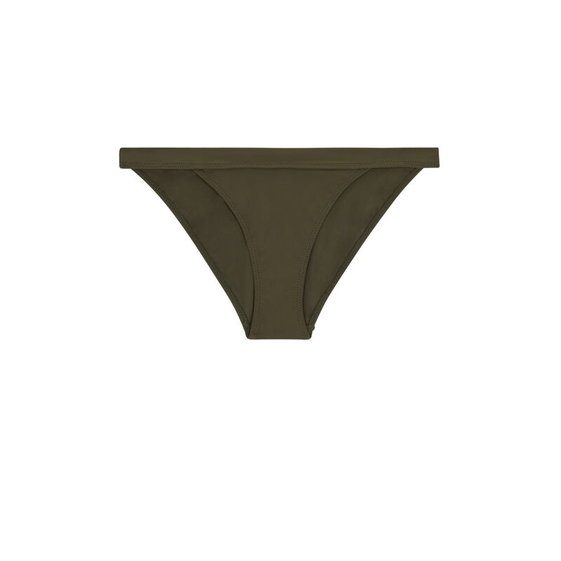 Bas de maillot de bain slip kaki sahariz;