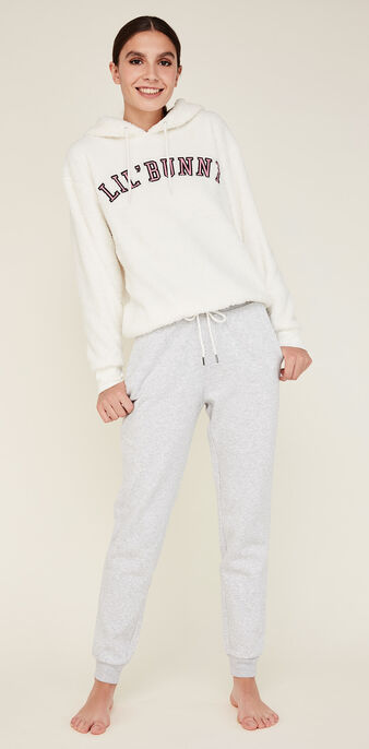 Sweat blanc englilapouniz white.