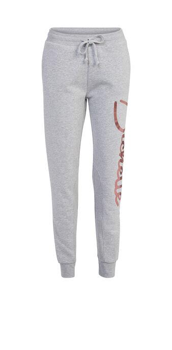 Pantalon gris clair bichettiz grey.