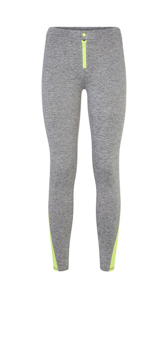 Zippiz grey athletic leggings grey.