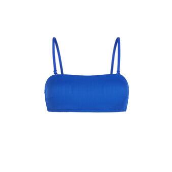 Bandeau bleu gaufriz blue.