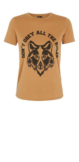 Top marron clair wolfiz brown.