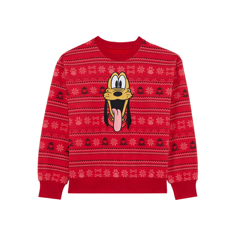 pull Christmas Pluto - rouge;
