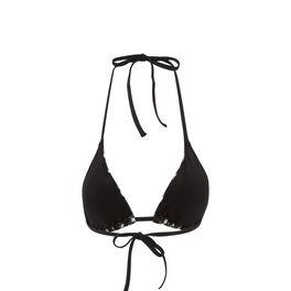 Haut de maillot de bain triangle noir roxaniz black.