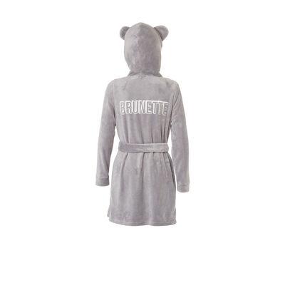 Sobruniz light grey bathrobe;${refinementColor}
