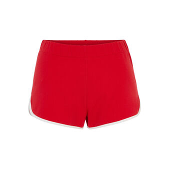 Short rouge ululiz red.