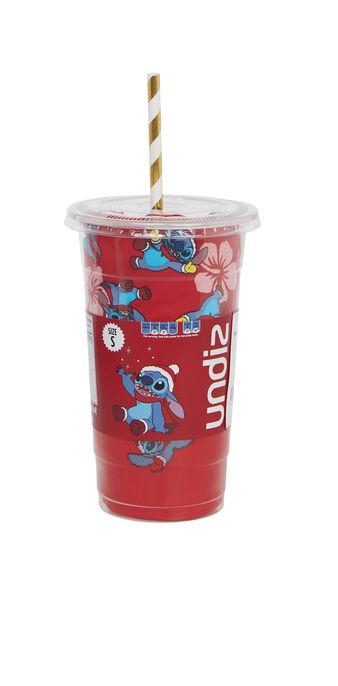 Set cup femme rouge stitchpiz red.