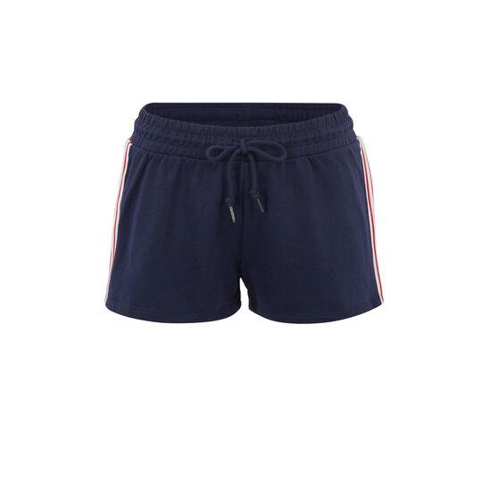 Short bleu fastesiz;