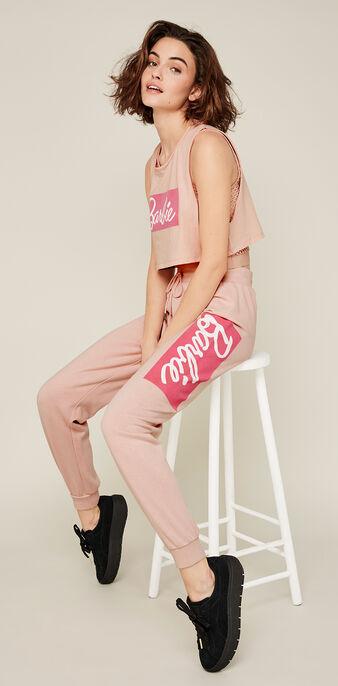 Pantalon rose cabarbiz pink.