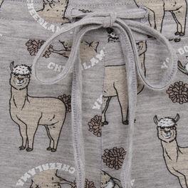 Pantalon gris lamacutiz grey.
