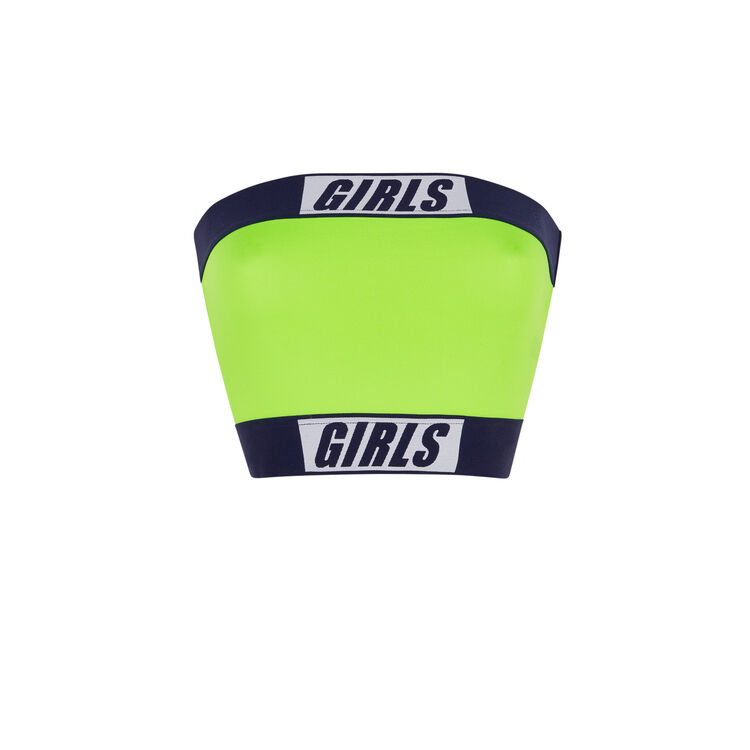 Top jaune fluo girlbandiz yellow.