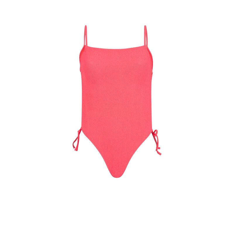 Maillot de bain une pièce rose fluo sikiniz;