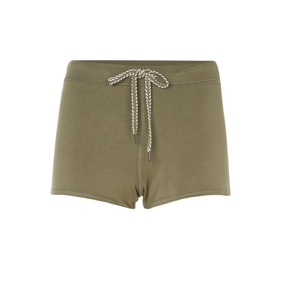 Monbasiz khaki green shorts;${refinementColor}