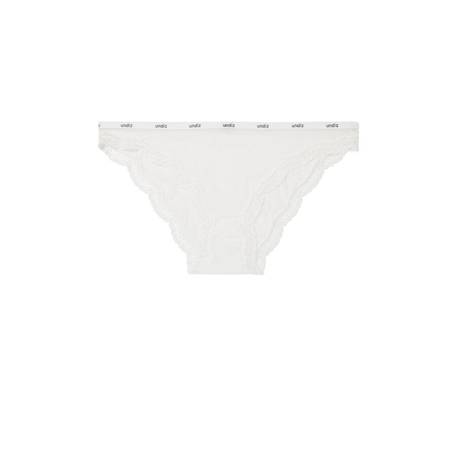 Culotte blanche veteriz;
