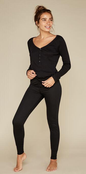 Pantalon noir azkiz black.
