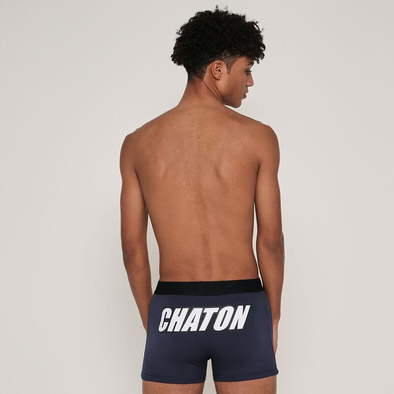 boxer coton à message uzcatiz;