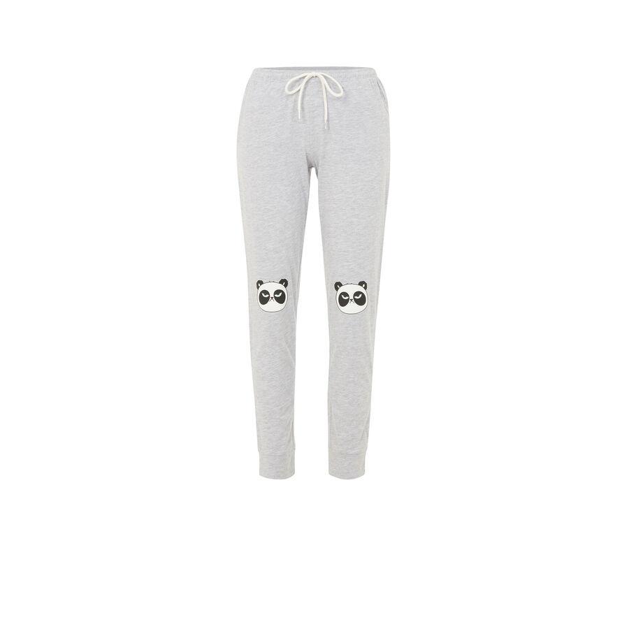 Pantalon gris pandapiliz;