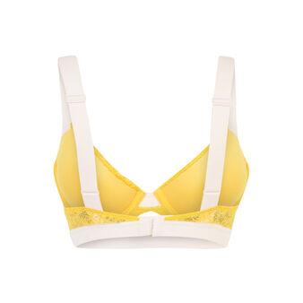 Soutien-gorge ampli jaune caprichiz yellow.