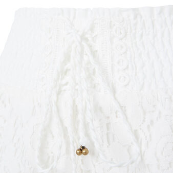 Short blanc cassé shortiyiz white.